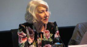 Incontro con Helen Mirren per La vedova Winchester